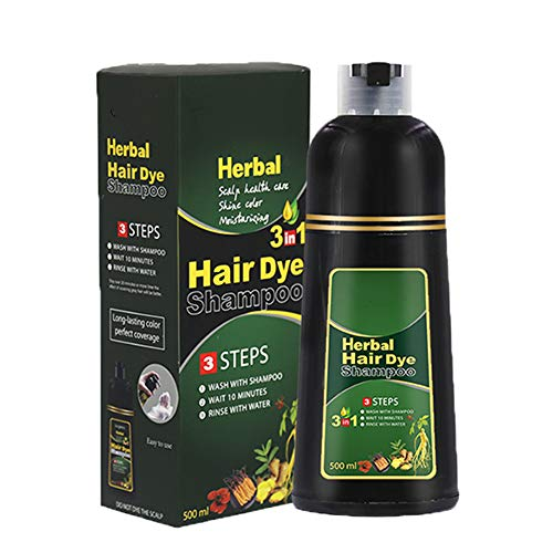 YWILLINK Herbal Hair Dye Shampoo Natural Non-Scalp Hair Care Multi-Color Hair Dye for Men and Women