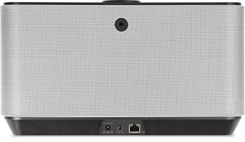 TechniSat AUDIOMASTER MR2 - 60 Watt ELAC WLAN-Lautsprecher und Internetradio (mit UPnP/DLNA Audiostreaming, Multiroom Speaker zum Abspielen von Internetradio, Spotify und Bluetooth) schwarz/silber