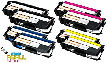 Toner Refill Store ™ 8 Pack TN315BK TN315C TN315Y TN315M Toner Cartridges for Brother HL-4570cdw