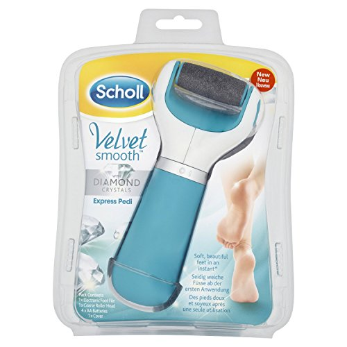 Scholl Velvet Smooth Diamond Hornhautentferner Crystal Blue