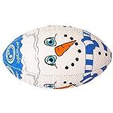 Optimum Ballon de Rugby de Noël pour garçon Mini Multicolore
