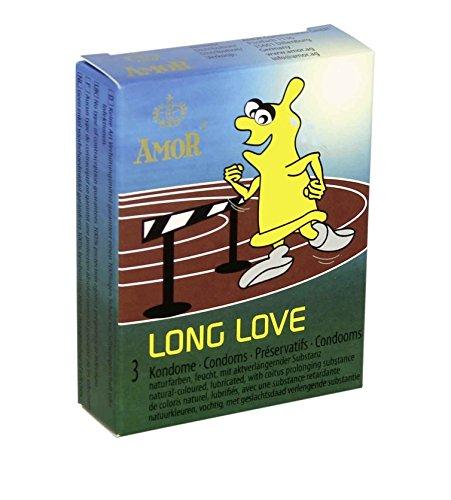 Amor Long Love 3 aktverlängernde Kondome