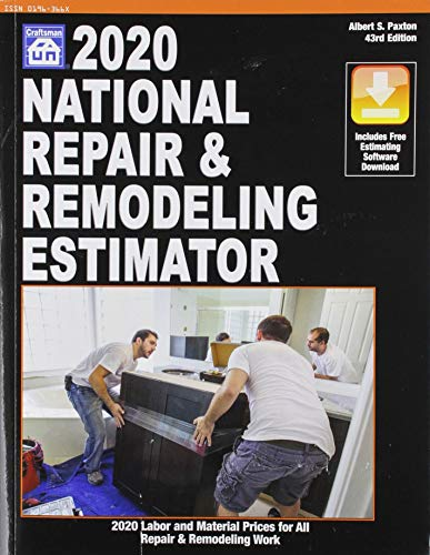 Compare Textbook Prices for 2020 National Repair & Remodeling Estimator 43rd ed. Edition ISBN 9781572183605 by Paxton, Albert S