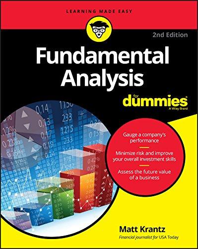 Fundamental Analysis For Dummies
