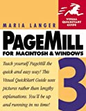 Pagemill 3 for Macintosh and Windows (Visual QuickStart Guide)
