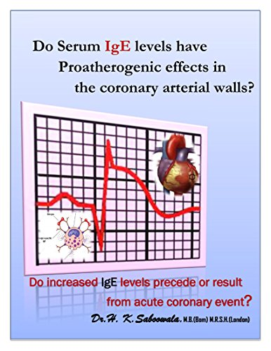 '' Do Serum IgE levels have Proatherogenic effects in the coronary arterial walls?