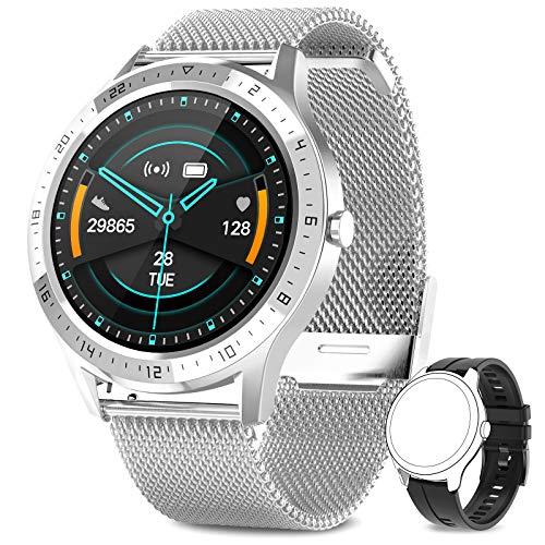NAIXUES Montre Connectée Homme, Smartwatch Sport Podometre...