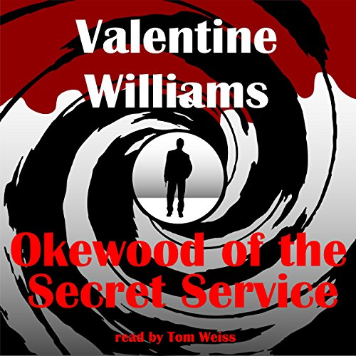 Okewood of the Secret Service audiobook cover art