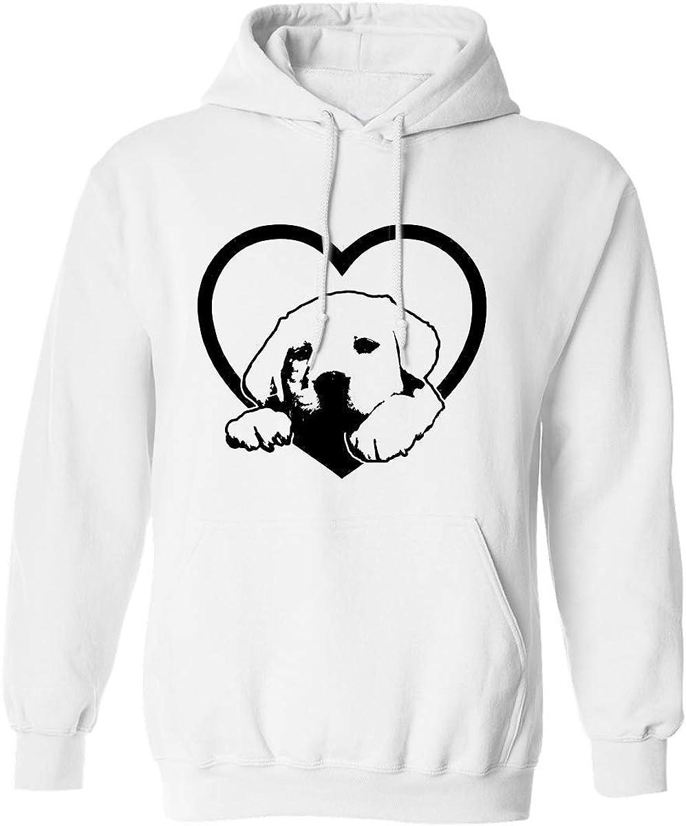 Labrador Retriever Adult Hooded Sweatshirt