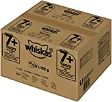 Whiskas 7 + makanan kucing, makanan basah berkualiti tinggi untuk kot yang sihat, makanan lembap dalam rasa yang berbeza
