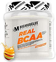 Bigmuscles Nutrition Real BCAA [50 Servings, Tropical Madness] -100% Micronized Vegan, Muscle Recovery & Endurance BCAA...