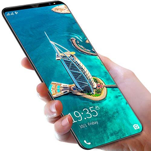 FJYDM Teléfonos Celulares Desbloqueados 5G WiFi 8 Núcleos, 4G LTE Global, Teléfono Inteligente Desbloqueado Pantalla De Alta Definición De 5', 6GB RAM + 128GB ROM Teléfono Celular,Negro