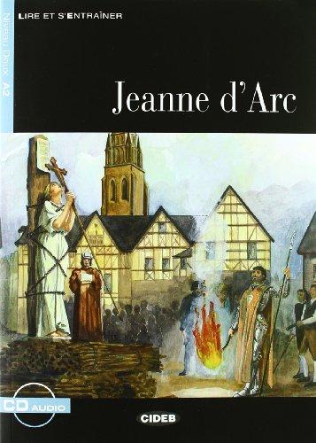 Jeanne D'ARC - Book & CD [Lingua francese]: Jeanne d'Arc + CD