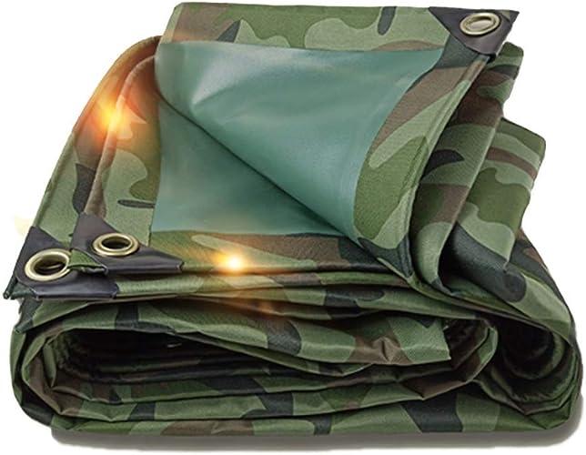 Bache Bache Toile D'ombre Tarp-Camouflage épais Toile De Prougeection Extérieure portable Durable Durable Belle Belle LEBAO (Couleur   1.5  2m)