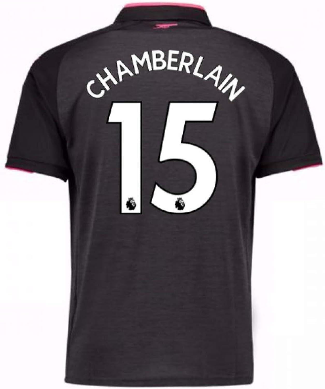 2017-18 Arsenal Third Football Soccer T-Shirt (Alex Oxlade Chamberlain 15)