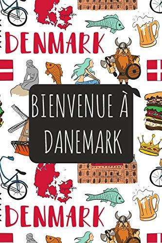 Bienvenue à Danemark: 6x9 Carnet de voyage I Journal de voyage avec instructions, Checklists et Bucketlists, cadeau parfait pour votre séjour   et pour chaque voyageur.