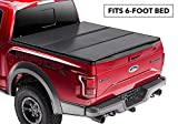 Rugged Liner Premium Hard Folding Truck Bed Tonneau Cover | HC-T616 | fits 16-18 Toyota Tacoma 6ft. (with utility track), 6' bed