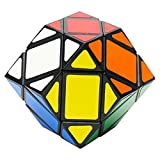 EASEHOME Diamante Speed Magic Puzzle Cube, Diamond Rompecabezas Cubo Mágico PVC Pegatina para Niños y Adultos, Negro