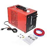 DIFU - Enfriador de agua para dispositivos de soldadura Wig/TIG/MIG/soldadores, equipos de soldadura de arco AC/DC, 370 W, 220 V, refrigeración por agua
