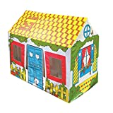 Bestway 52008B-02 - Spielhaus Cottage Play House, 102 x 76 x 114 cm