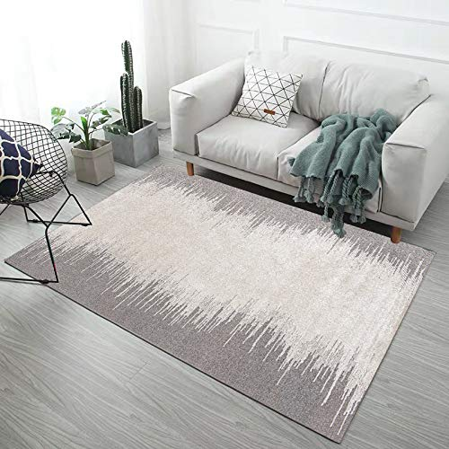 European-Style Simple Modern Thick Geometric Coffee Table Mat 3D Printed Non-Slip Carpet Living Room Bedroom Hotel Guest House Party Carpet