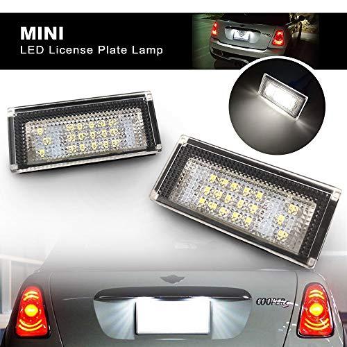 Kennzeichenbeleuchtung LED passend f/ür Mini Cooper R50 R52 R53