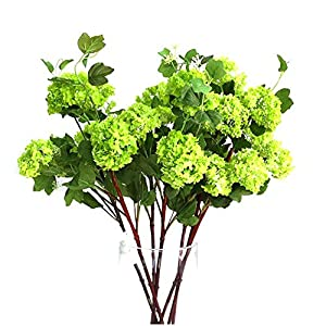 Artificial Decorative Flowers Wooden hydrangea flower snowball 5 colors into the artificial flower literary floral decorative ornaments Flower Products include:Artificial Flowers,Artificial Plants.