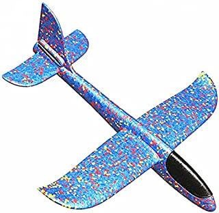 Epp Foam Hand Throw Airplane Outdoor Game Launch Flying Glider Plane 48Cm Dyi Kids Gift Aeroplane Interesting Toys For Chi...