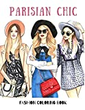 Parisian Chic: Fashion Coloring Book