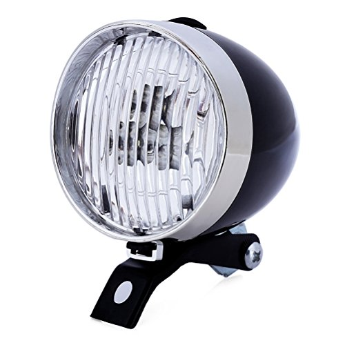 VORCOOL LED feu Avant Lampe de vélo Lampe vélo vélo vélo éclairage étanche pour VTT BMX de Course Noir