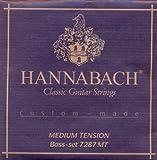 Hannabach 7287 Custom Made - Bass-Satz Konzergitarre, medium Tension