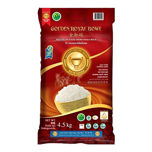 Jasmin Duft Reis - Premium Thai Hom Mali Rice - Golden Royal Bowl 4,5kg