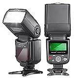 Neewer 750II TTLフラッシュスピードライト LCDディスプレイ Nikon DSLRカメラ用