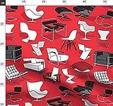 Schwarz Und Weiß, Rot, Bauhaus, International, Möbel,
