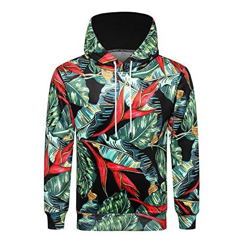 Kapuzenpullover Sweatshirts Herren Hoodie 3D Digital Print Hoodie Herbst, Y720, XXXL