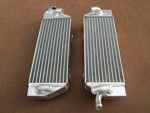Radiador de aluminio para KTM 125/200/250/300/380 SX/SXS/EXC/MXC/XC-W 1998-2007 SX125 1999 2000 2006 2005