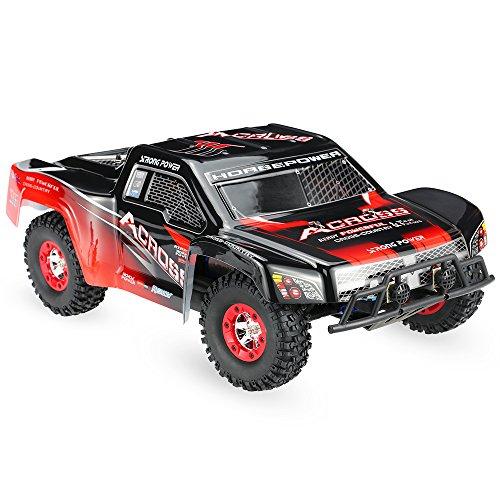 Goolsky Wltoys 12423 1/12 2,4 G 4WD elettrico spazzolato breve corso RTR RC auto