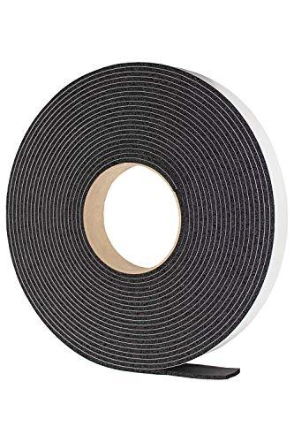 戸当り 隙間 戸 防音 緩衝材 粘着 テープ 付 ゴム スポンジ 厚み 3 mm 幅 25 mm 長さ 10 M EPDM エチレンプロピレン タフロング 岡安ゴム