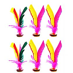 Colorful Feather Kick Shuttlecock Chinese Sport Jianzi Foot Kicking Shuttlecock for Outdoor Sports Fitness