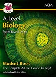A-Level Biology for AQA: Year 1 & 2 Student Book with Online Edition: ideal revision for mocks and exams in 2021 and 2022 (CGP A-Level Biology)