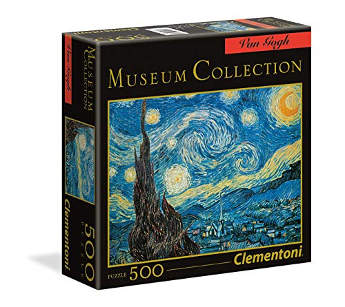 Adults Puzzle 1000 Piece Jigsaw Puzzle Van Gogh The Starry Night Thicker Paper Puzzles