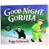 Constructive Playthings PU-73 Goodnight Gorilla- 40 pg. Hardcover Children's Book [並行輸入品]