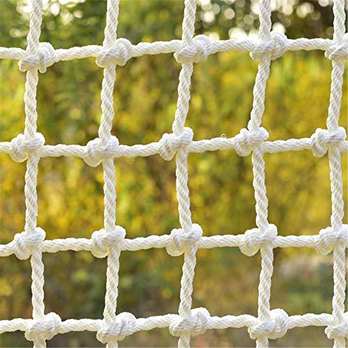 HXFYJ Red Protectora Balcón Barandilla Escalera Protección Valla Decoración Redes Dia 4mm Malla 5cm Red de Seguridad para niños,1x3m(3x10ft)