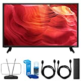 VIZIO (E40-D0 40' 120Hz SmartCast E-Series Full-Array LED Smart 1080p HDTV w/TV Cut The Cord Bundle Includes, Durable HDTV and FM Antenna, Universal Screen Cleaner & 2X 6ft High Speed HDMI Cable