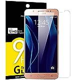 NEW'C Lot de 3 Verre Trempé pour Samsung Galaxy J5 2015 (SM-J500), Film Protection...