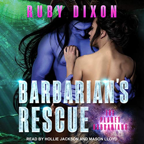 Barbarian's Rescue audiobook cover art