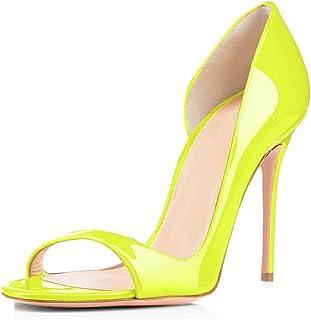 EDEFS - Scarpe col Tacco - Scarpe da Donna - Sandali - Peep Toe - High Heels