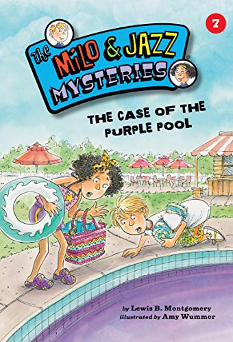 The Case of the Purple Pool (Book 7) (The Milo & Jazz Mysteries ®) (English Edition)