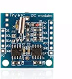 WINGONEER 5Pcs Tiny RTC I2C DS1307 AT24C32 Real Time Clock Module for AVR PIC 51 ARM