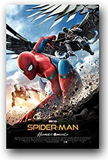 Poster House Spider-Man Homecoming Poster - 2017 Movie Promo 11 x 17 - skid